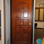 porta blindata legno pregiato